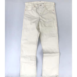THREE FACE for CSF / denim pants (white)