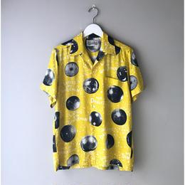 WACKO MARIA / MIRROR BALL S/S HAWAIIAN SHIRT (yellow)
