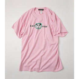 ZATUON x 川崎あや / panda ss tee (pink)