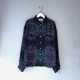 """F-LAGSTUF-F / """"Ten thousand yen"""" L/S Shirts (black)"""