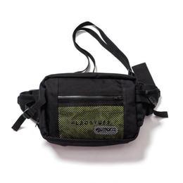 F-LAGSTUF-F x OUTDOOR / Waist bag (black x yellow)