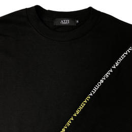 Diaspora skateboards / Long Letter L/S Tee (black)
