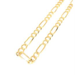 14K GOLD  necklace (フィガロチェーン:5mm)