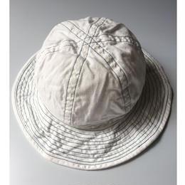 THREE FACE / denim hat (white denim)