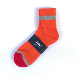 PHINGERIN / SOCKS! (orange x grey x red)