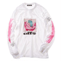 offshore × DRAGON BALL × ZATUON / offs tee (white)