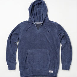 VIRI-DARI  deserta ( ヴィリダリデセルタ ) Pullover Parker Blue