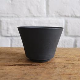 南景製陶園 湯呑 黒くすべ