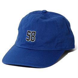 "OKINAWAMADE™""58""刺繍コットンキャップ(ブルー)"