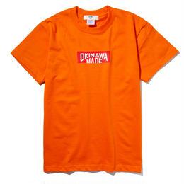 OKINAWAMADE™ボックスロゴTシャツ(オレンジ)