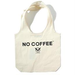 NO COFFEExYOSHIDAROBERTOショッピングバッグ(ホワイト)