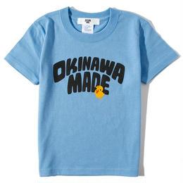 OKINAWAMADExSHU ASHIMINETシャツFOR KIDS(サックス)
