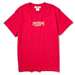 OKINAWAMADE™ボックスロゴTシャツ(ピンク)