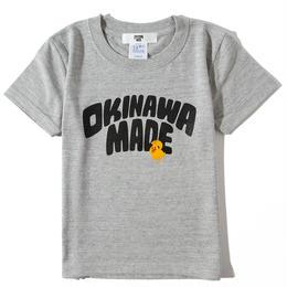 OKINAWAMADExSHU ASHIMINETシャツFOR KIDS(グレー)