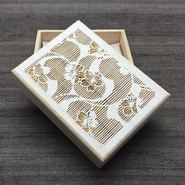 KATAGAMI文様の小箱【桜に巴】  【送料無料 税込】