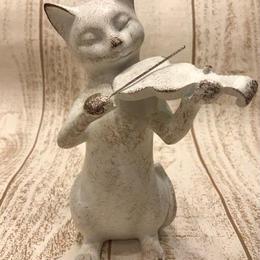 バイオリン猫ちゃん