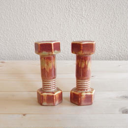 Nut and Bolt Salt and Pepper