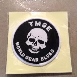 TMGE   WORLD GEAR BLUES   Patch  2pcs