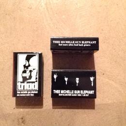 TMGE  GEAR BLUES  Match Box 3Pcs