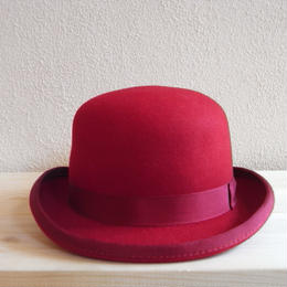 CHRISTY'S DERBY HAT (Red)