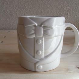 洋服 Mug(蝶ネクタイB)