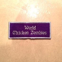 TMGE   WORLD CHIKEN ZOMBIES   Patch  for  Staff
