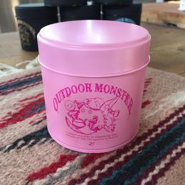 TEABOY茶缶 【ピンク】アウトドアモンスター