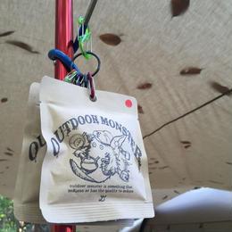 TEABOY アウトドアモンスター茶袋(ひも付きティーバッグ茶入)