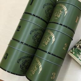 TEABOY茶缶 【オリーブグリーン】アウトドアモンスター