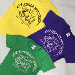 アウトドアモンスターTEABOY  Teaシャツ 【Kids】