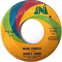 Quincy Jones ‎– Main Squeeze / The Lost Man