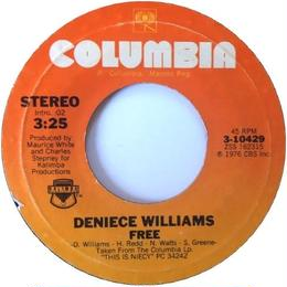 Deniece Williams – Free / Cause You Love Me Baby