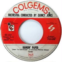 Quincy Jones ‎– Lonely Bottles / Hangin' Paper
