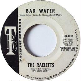 Raeletts, The ‎– Bad Water / That Goes To Show You