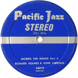 Richard Holmes & Gene Ammons - Morris The Minor Part 1, Part 2