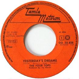 Four Tops, The ‎– Yesterday's Dreams / Cherish