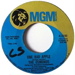 Osmonds, The ‎– One Bad Apple / He Ain't Heavy ...He's My Brother