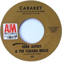 Herb Alpert & The Tijuana Brass ‎– Cabaret / Slick