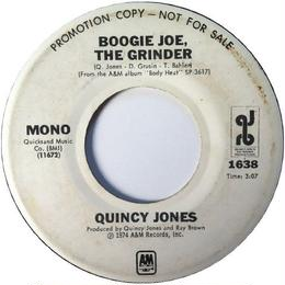 Quincy Jones ‎– Boogie Joe, The Grinder