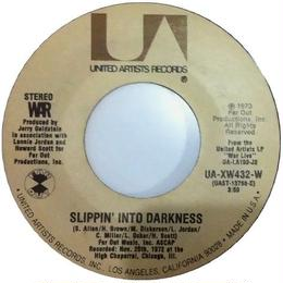 War ‎– Slippin' Into Darkness / Nappy Head