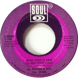 Jr. Walker & The All Stars - What Does It Take (To Win Your Love) / Brainwasher (Part 1)