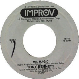 Tony Bennett ‎– Mr. Magic / One