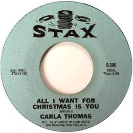 Carla Thomas ‎– All I Want For Christmas Is You / Winter Snow