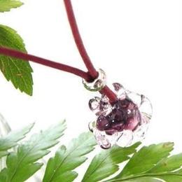 【ガラス工房Lamb】コンコロペンダント 紫 L4-228