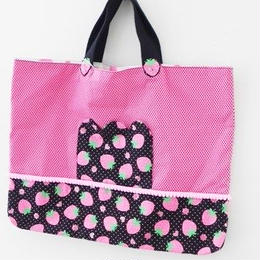 【Pink Butterfly】レッスンbag AO-16