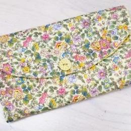【ああ】カード入れ 小花 P17-1213
