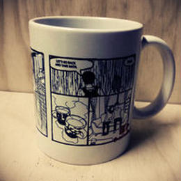 「冷やし中華以外、始めました」マグカップ