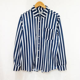 AOZORA ストライプボタンダウンメッシュシャツ(メンズ)