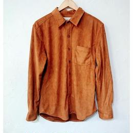 LiSS リス フェイクスウェードシャツ (ユニセックス)
