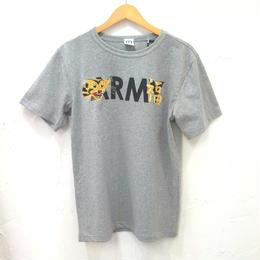 HOUSTON ヒューストン プリント刺繍Tシャツ (ユニセックス)
